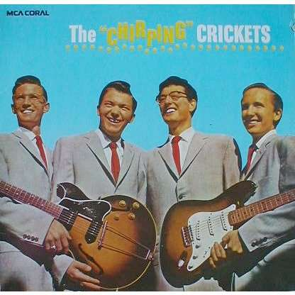 The Chirping Crickets 12t By Buddy Holly Amp The Crickets