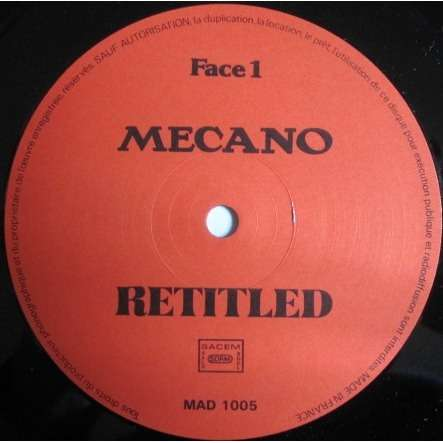 Mecano Retitled