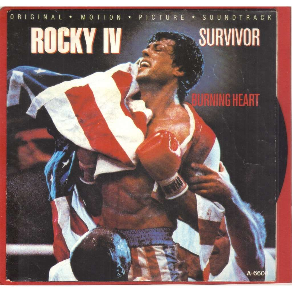 survivor BURNING HEART // ROCKY IV