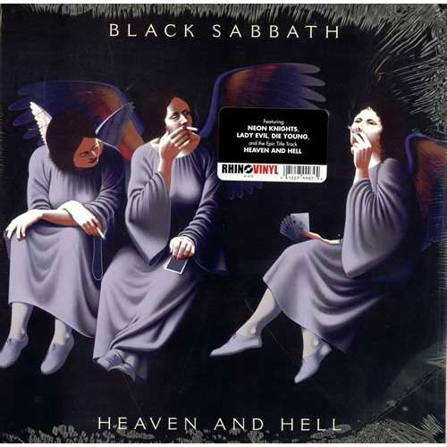 heaven and hell lp ltd edit rhino vinyl usa by black sabbath lp with adrenalyn ref 114666013. Black Bedroom Furniture Sets. Home Design Ideas