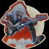 IRON MAIDEN FEAR OF THE DARK LIVE ( 7 ) pict-disc ( empd 263) - u.k