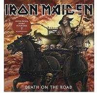 IRON MAIDEN death on the road (2xlp) pict-disc 3364371 -u.k