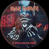 IRON MAIDEN a real dead one (lp) promo pict disc - bresil