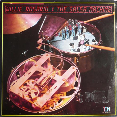 Willie Rosario The Salsa Machine Lp For Sale On Cdandlp Com
