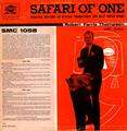 ROBERT FARRIS THOMPSON - safari of one