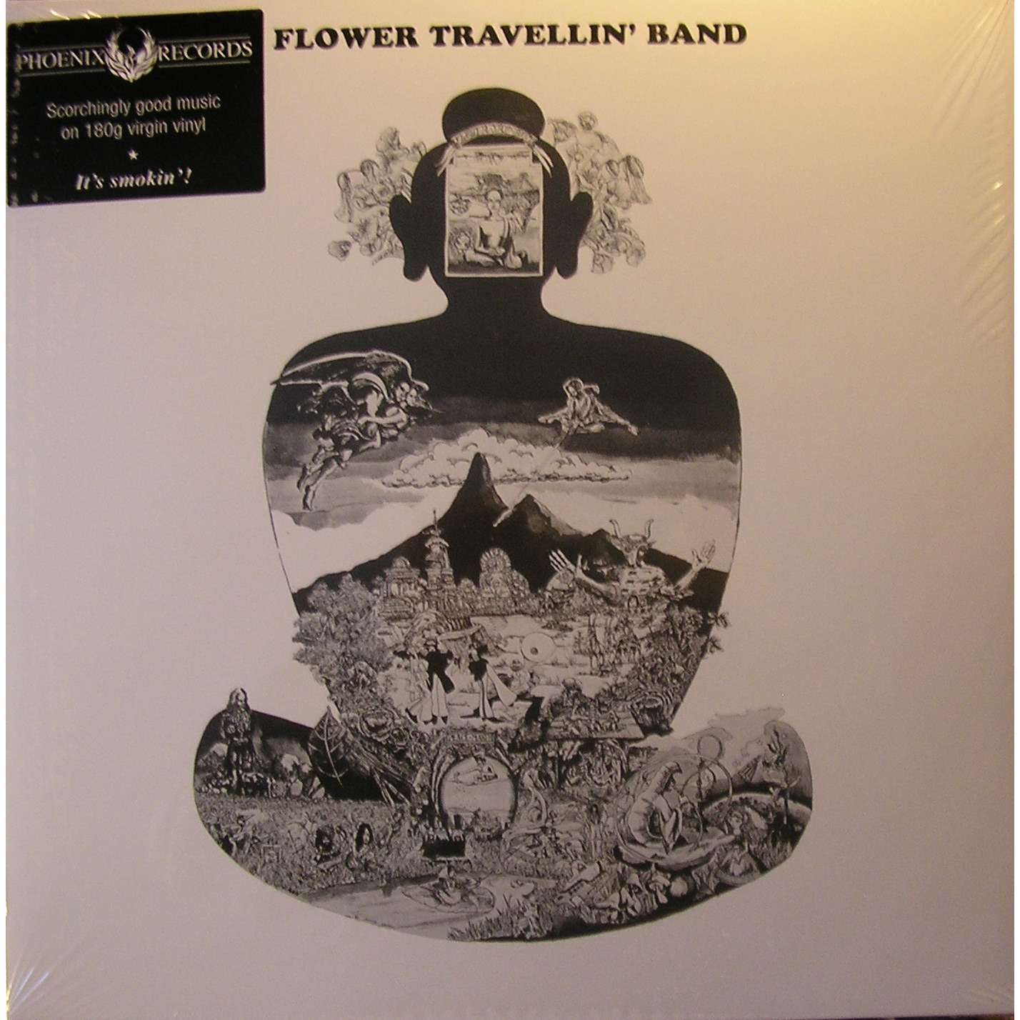 Satori By Flower Travellin Band Lp Gatefold With Ald93