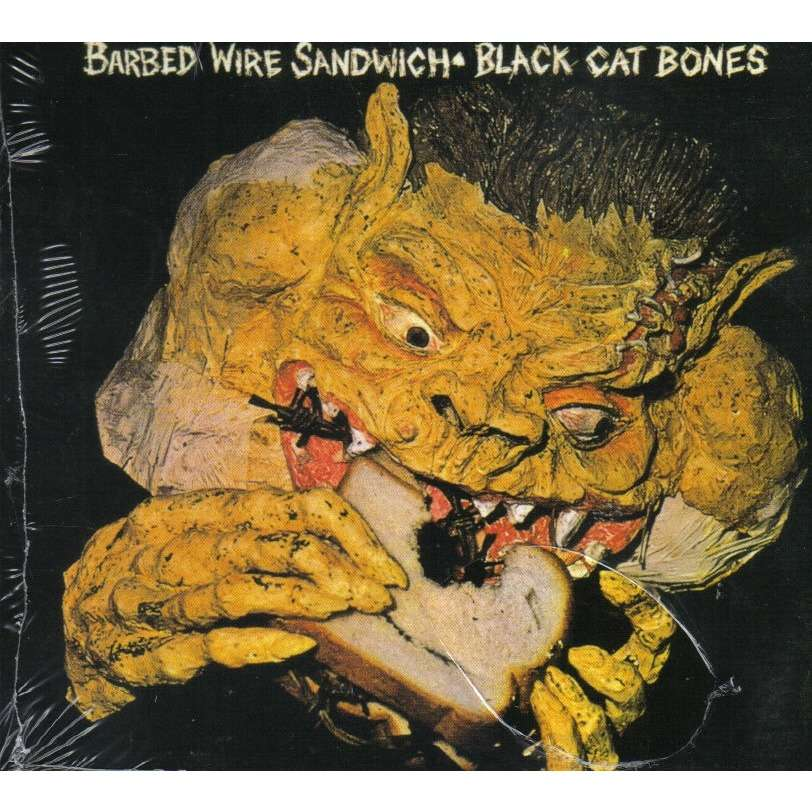 Barbed Wire Sandwich By Black Cat Bones Cd With Ald93