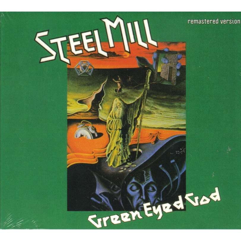 Green Eyed God By Steel Mill Cd With Ald93 Ref 114706448