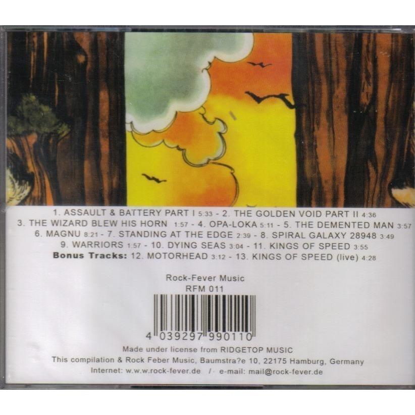 Warrior On The Edge Of Time 2 Bonus Tracks By Hawkwind