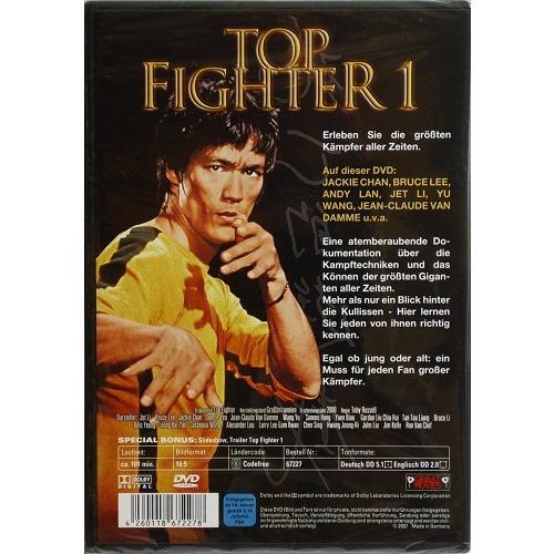 JACKIE CHAN, BRUCE LEE, JET LI, TOP FIGHTER 1: DIE GRÖSSTEN KÄMPFER ALLER ZEITEN