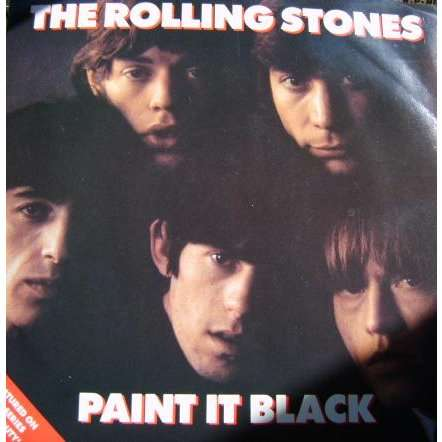 Paint it black by the rolling stones 12inch with atmmu76 for The rolling stones paint it black
