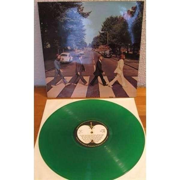 The Beatles ABBEY ROAD GREEN VINYL