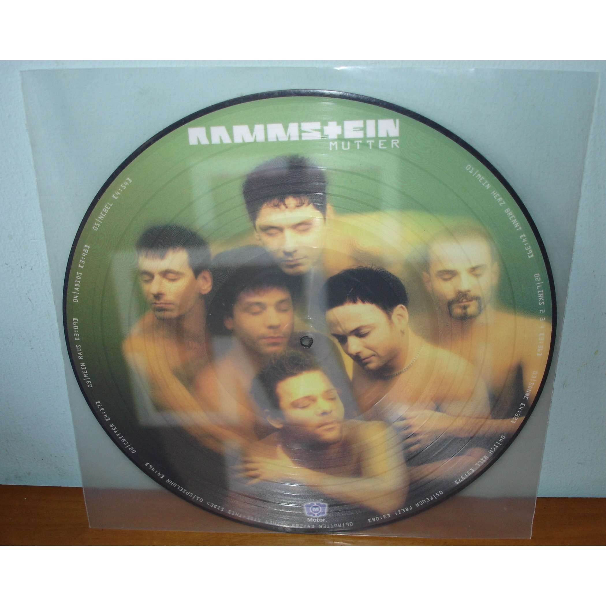 RAMMSTEIN MUTTER (PICTURE DISC)
