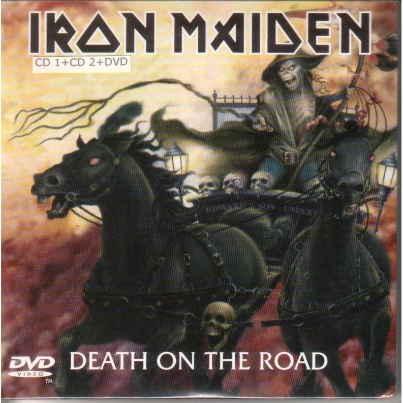 iron maiden death on the road (2 cd+dvd)