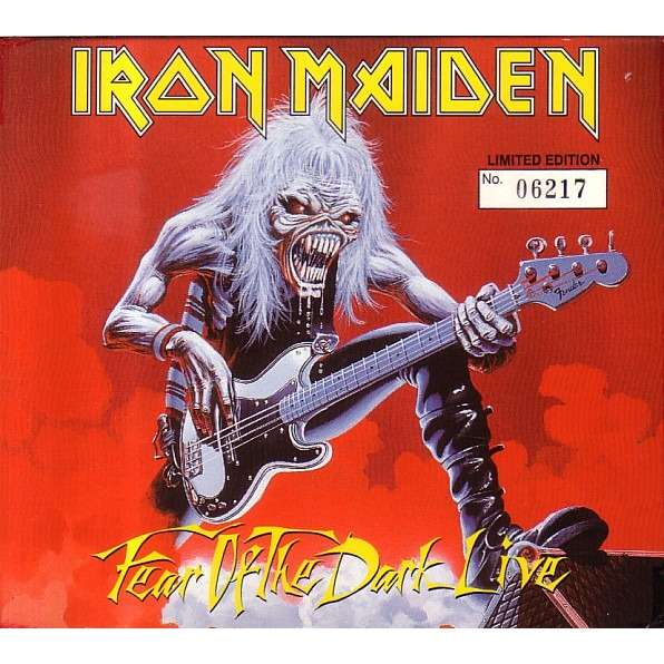 IRON MAIDEN fear of the dark live (digipack)