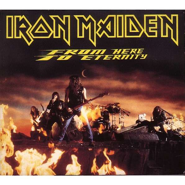 iron maiden FROM HERE TO ETERNITY DIGIPACK