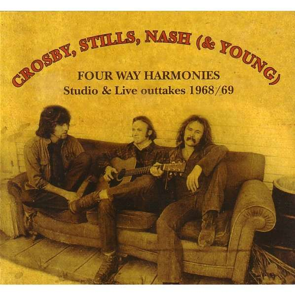 Four Way Harmonies Studio Amp Live Outtakes 1968 69 By