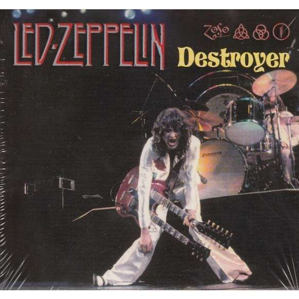 Destroyer By Led Zeppelin Cd X 3 With Avefenixrecords