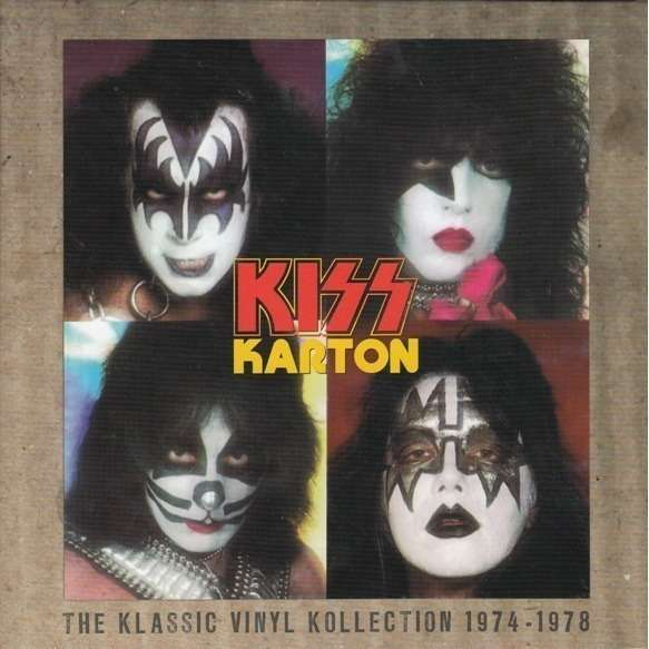 KISS Karton (The Klassic Vinyl Kollection 1974-1978) BOX 6 CD'S