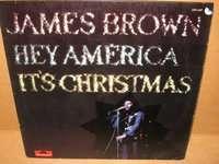 JAMES BROWN hey america it's christmas