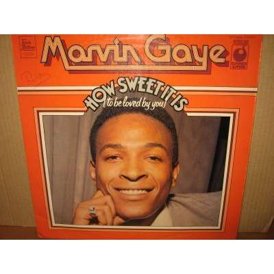 MARVIN GAYE how sweet it is