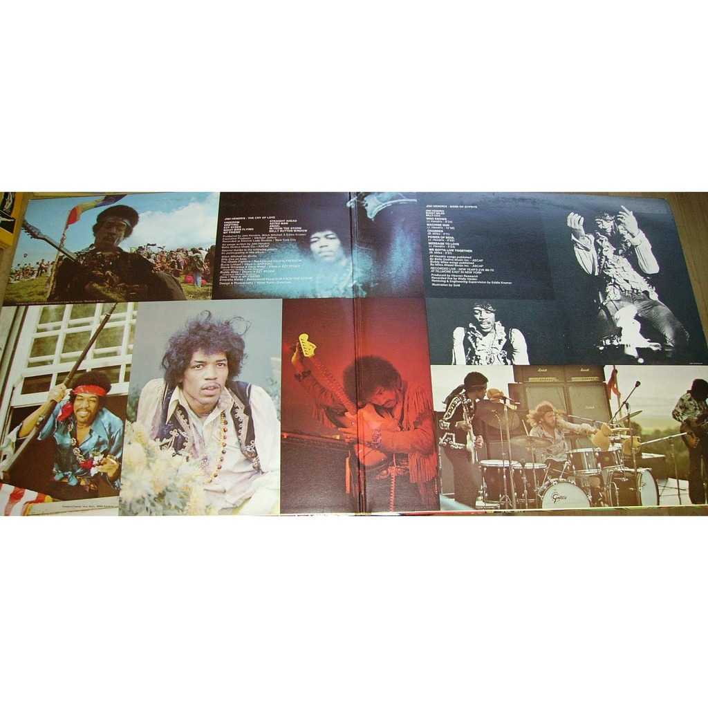 band of gypsys the cry of love by jimi hendrix double lp gatefold with blakcat ref 115016554. Black Bedroom Furniture Sets. Home Design Ideas