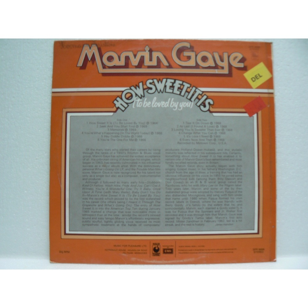 marvin gaye I TO BE LOVED BY YOU