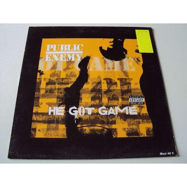 PUBLIC ENEMY he got game (promo)