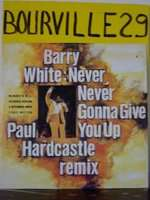 BARRY WHITE never never gonna give you up PAUL HARDCASTLE RMX