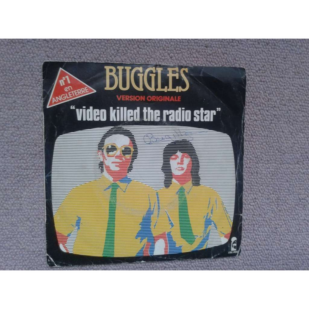 buggles video killed the radio star