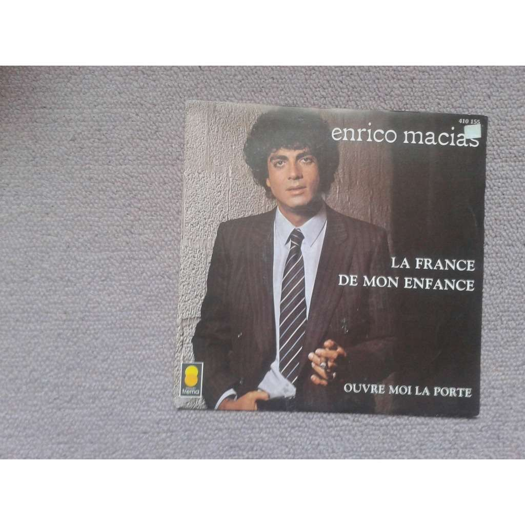 enrico macias la de mon enfance 7inch sp for sale on cdandlp