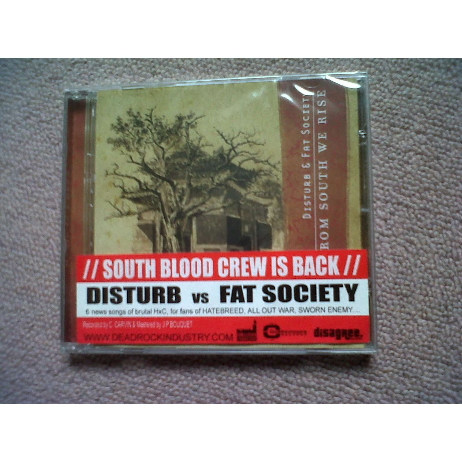disturb & fat society from south we rise