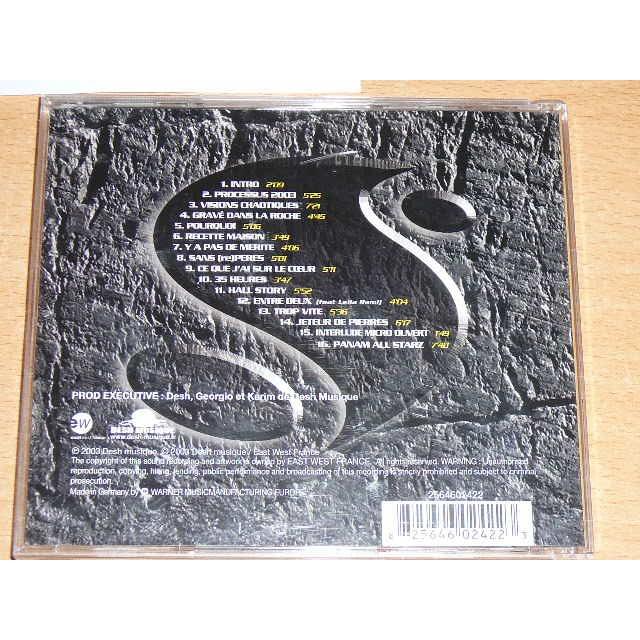 album sniper graver dans la roche