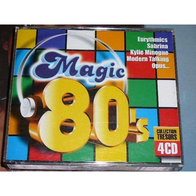 le meilleur des ann e 80 by magic 80 39 s cd x 4 with bruno30 ref 115149617. Black Bedroom Furniture Sets. Home Design Ideas