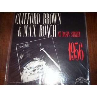 clifford brown, max roach at basin street
