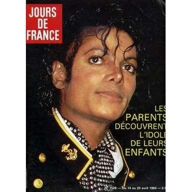 Michael JACKSON Jour De France # 1528