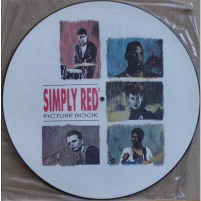 simply red Picture Book (Picture-Disc)