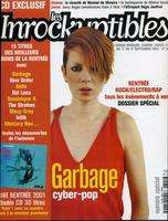 GARBAGE (Shirley MANSON) Les Inrockuptibles N°304 (numero spécial - sept. 2001)