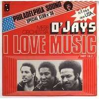 O' JAYS  ( THE ) i love music ( part l & part ll )