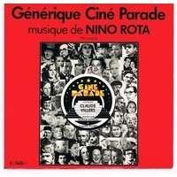 ROTA NINO générique ciné parade : fellini 8 1/2 / spara piu forte, piu forte, non, capiscoballando con raquel