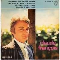 FRANCOIS  CLAUDE amoureux du monde entier +  3