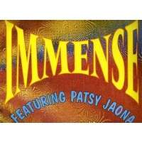IMMENSE  featuring  PATSY   JAONA COMME UN APPEL ( 2  VERS. )  /  COMME UN DUB - MARTIN LUTHER