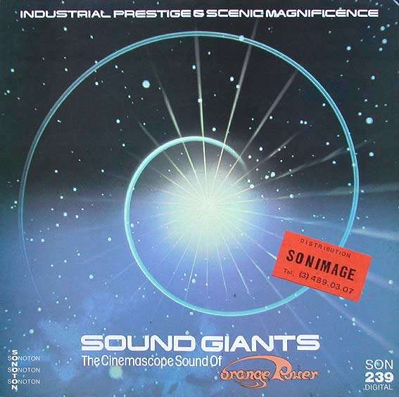 SOUND GIANTS - the cinemascope sound of orange power  sonoton son 239 digital