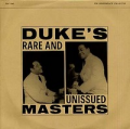 DUKE ELLINGTON - duke's rare and unissued masters
