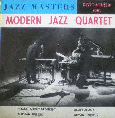 MODERN JAZZ QUARTET - jazz masters- round about midnight