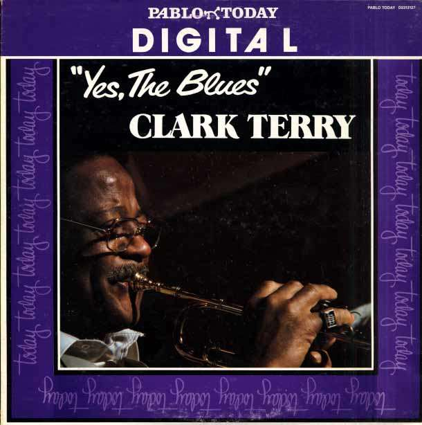 CLARK TERRY - yes, the blues, red vinyl
