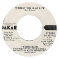 TYRONE DAVIS - without you in my life