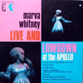 MARVA WHITNEY - live and lowdown at the apollo