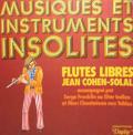 JEAN COHEN-SOLAL - flutes libres