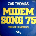 ZAK THOMAS - midem song 75